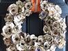 Paper Plate Wreath via lilblueboo.com