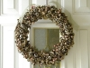 Metallic Wreath via lilblueboo.com