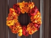 Fall Floral Wreath via lilblueboo.com