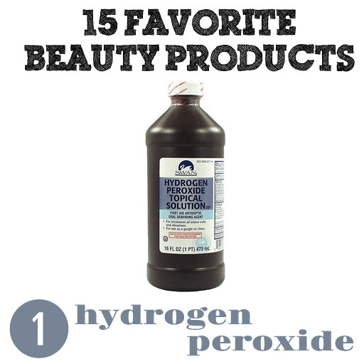Hydrogen Peroxide for Teeth Whitening via lilblueboo.com