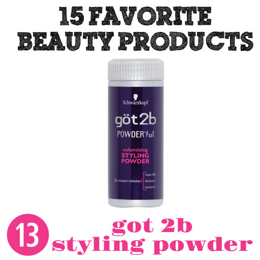 Got2B Texturizing Powder via lilblueboo.com