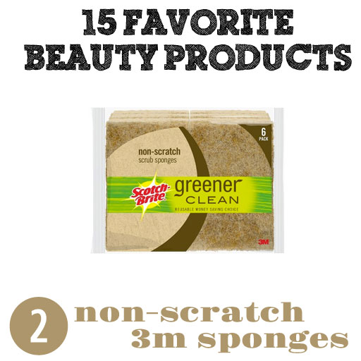 Non-Scratch Sponges instead of Loofah and Pumice via lilblueboo.com