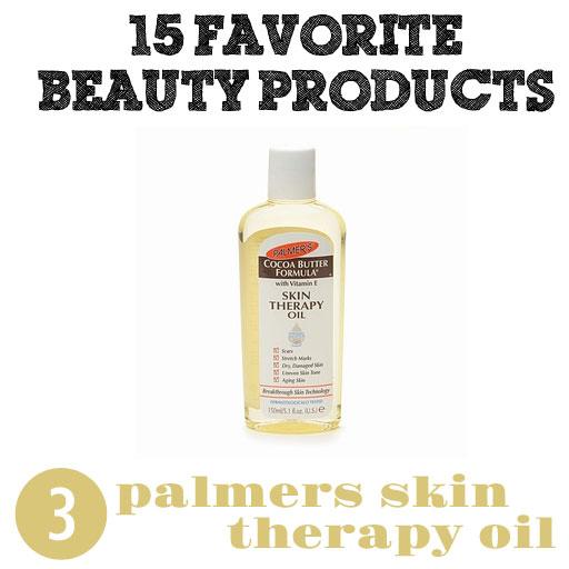 Palmer's Therapy Oil via lilblueboo.com