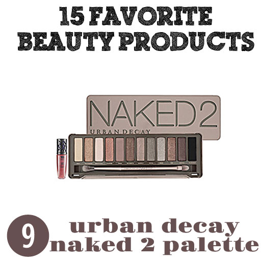 Urban Decay Naked 2 Palette via lilblueboo.com