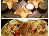 Muffin Tin Tortilla Cups via lilblueboo.com