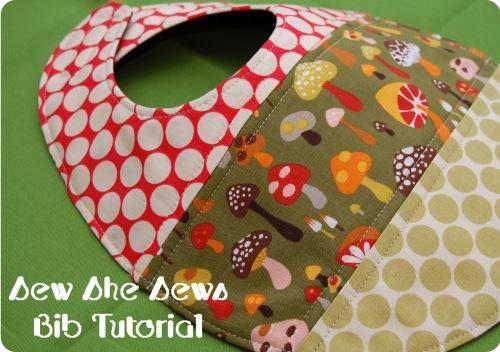 Bib Pattern Tutorial via lilblueboo.com