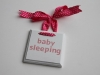 Baby Plaque Tutorial via lilblueboo.com