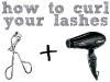 Random Beauty Tip: How to curl your lashes via lilblueboo.com