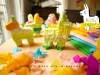 Cinco de Mayo Party Ideas: DIY Mini Pinatas via Oh Happy Day at lilblueboo.com