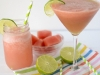Cinco de Mayo Party Ideas: Watermelon Lemonade Margarita plus a kid's version via Crazy for Crust at lilblueboo.com