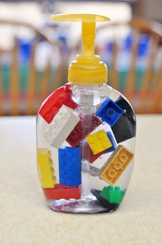 DIY Lego Soap via lilblueboo.com