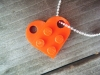 DIY Lego Heart Pendant via lilblueboo.com