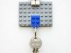 DIY Lego Key Holder via lilblueboo.com