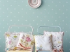 DIY Baby Gift Ideas: Handkerchief Nursery Pillows via lilblueboo.com