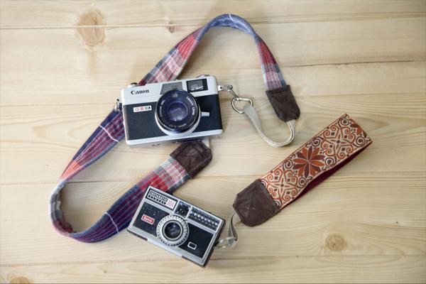 12 DIY Camera Strap Ideas: Camera Strap from a Shirt, Belt and Boot via lilblueboo.com