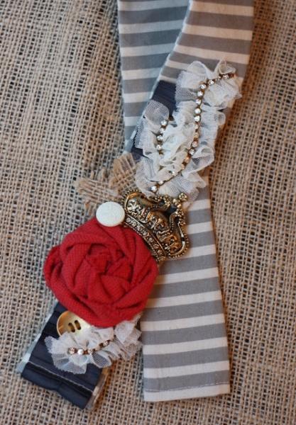 12 DIY Camera Strap Ideas: Embellished Camera Strap by Luxy Living via lilblueboo.com