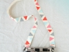 12 DIY Camera Strap Ideas: Painted Camera Strap at Design Love Fest via lilblueboo.com