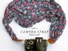 12 DIY Camera Strap Ideas: Camera Strap from a Scarf by The House that Lars Built via lilblueboo.com