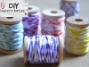 Craft Supplies you Can Make at Home: DIY Baker's Twine Tutorial by A Step in the Journey via lilblueboo.com