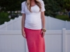 Maxi Skirt Maternity Tutorial via lilblueboo.com