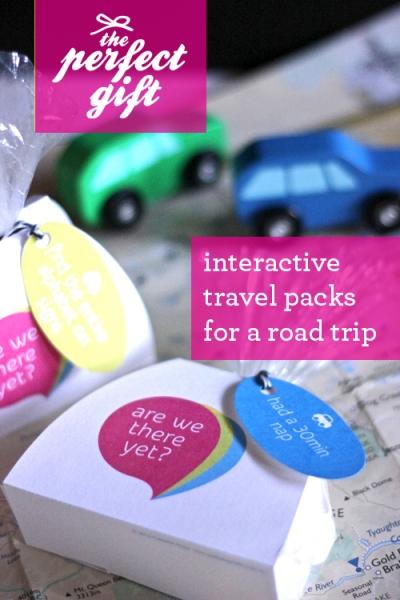 DIY Road Trip Travel Packs free printable at Design Mom via lilblueboo.com