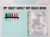 Funny DIY Dry Erase Book great for traveling by All for the Boys via lilblueboo.com