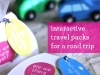 DIY Road Trip Travel Packs free printable at Design Mom via lilblueboo.com
