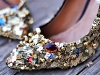 diy sequin shoe makeover update via lilblueboo.com