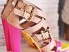 diy neon shoe update makeover via lilblueboo.com
