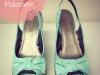 diy painted shoe makeover update via lilblueboo.com