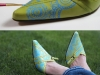 diy doodle painted shoes update