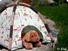 Mini Tent Pattern and Tutorial at Sew Mama Sew via lilblueboo.com
