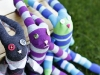 Easter Sock Bunny Tutorial via lilblueboo.com