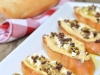 Easy Appetizer Idea: Hummus Crostini by Super Glue Mom via lilblueboo.com