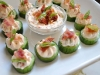 Easy Appetizer Idea: Sun Dried Tomato BLT Bites by The Ginger Snap Girl via lilblueboo.com