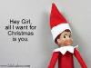 Hey Girl Ryan Gosling Internet Meme Elf on the Shelf via lilblueboo.com