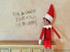 Bathroom Graffiti Elf on the Shelf via lilblueboo.com