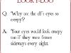 Why are the Elf's Eyes so Creepy? via lilblueboo.com #elfquestions #elfontheshelf