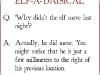 Why didn't the elf move last night? via lilblueboo.com #elfquestions #elfontheshelf