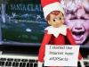 Elf Shaming: RIPSANTA Elf on the Shelf via lilblueboo.com #elfshaming #elfontheshelf #christmas