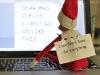 Elf Shaming: Comic Sans Elf on the Shelf via lilblueboo.com #elfshaming #elfontheshelf #christmas