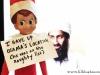 Elf Shaming: Bin Laden Elf on the Shelf via lilblueboo.com #elfshaming #elfontheshelf #christmas
