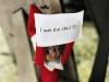 Elf Shaming: Sled Wetting Elf on the Shelf via lilblueboo.com #elfshaming #elfontheshelf #christmas