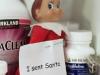 Elf Shaming: Fen-Phen Elf on the Shelf via lilblueboo.com #elfshaming #elfontheshelf #christmas