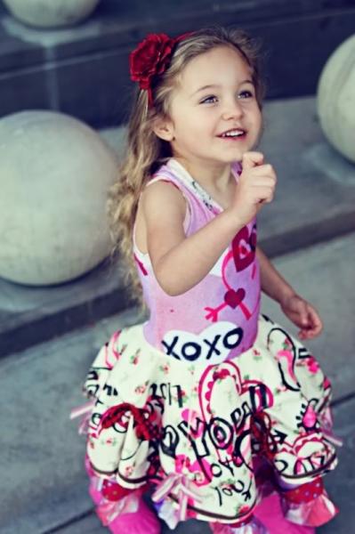 Party Dress Tutorial via lilblueboo.com