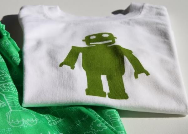 Freezer Paper Robot Template and  Tutorial via lilblueboo.com