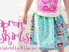 Easy Apron Skirt Download and Tutorial via lilblueboo.com