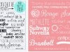 Font Roundups You Should Check Out from Rylee Blake and Thirty Handmade Days via lilblueboo.com