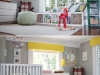 Colorful Gender Neutral Nursery featured at HGTV via lilblueboo.com