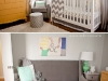 Gender Neutral Grey, Yellow and Mint Chevron Nursery by Casa de Lewis via lilblueboo.com